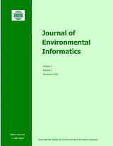 [Cover of J. of Env. Informatics]